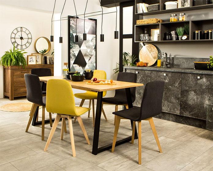 Jakie krzesła wybrać do kuchni otwartej na salon