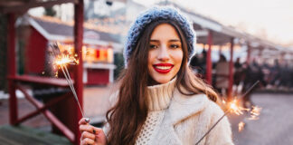 Stylizacje damskie na zimę