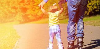 Jak nauczyć dziecko jeździć na rolkach